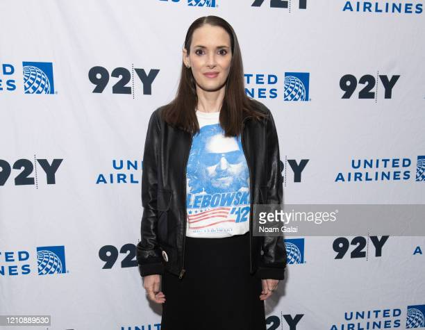 Winona Ryder attends a screening of HBO's The Plot Against America presented by 92Y Poetry Center at 92nd Street Y on March 06 2020 in New York City