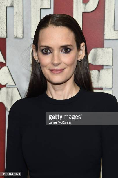 Winona Ryder attends HBO's The Plot Against America premiere at Florence Gould Hall on March 04 2020 in New York City