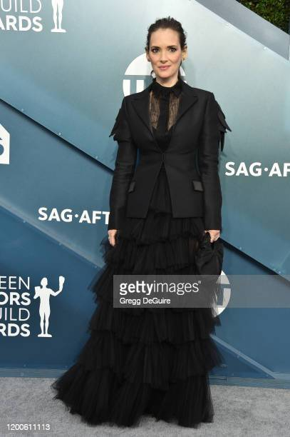 Winona Ryder attends the 26th Annual Screen Actors Guild Awards at The Shrine Auditorium on January 19 2020 in Los Angeles California 721430