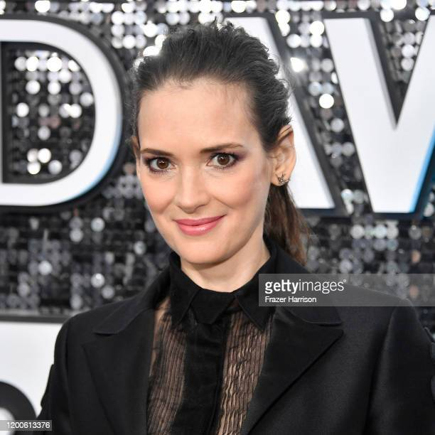 Winona Ryder attends the 26th Annual Screen Actors Guild Awards at The Shrine Auditorium on January 19, 2020 in Los Angeles, California.
