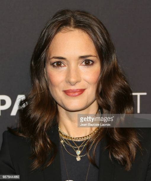 Winona Ryder attends The Paley Center for Media's 35th Annual PaleyFest Los Angeles - 'Stranger Things' at Dolby Theatre on March 25, 2018 in...