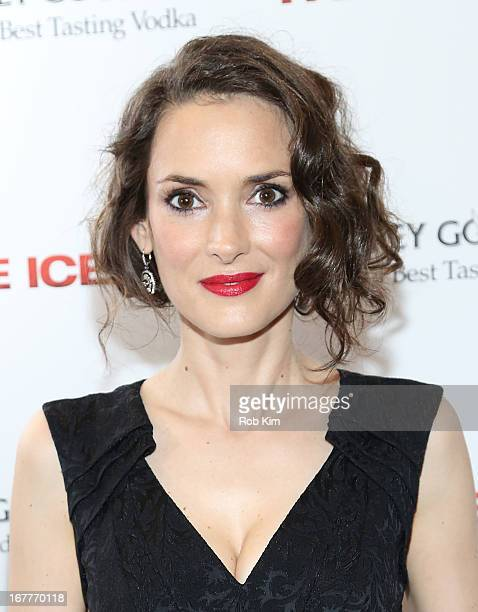 Winona Ryder attends the The Iceman screening presented by Millennium Entertainment and GREY GOOSE at Chelsea Clearview Cinemas on April 29 2013 in...
