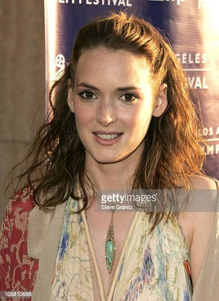 Winona Ryder during 2004 Los Angeles Film Festival 'Before Sunset' Premiere at ArcLight Cinerama Dome in Hollywood California United States