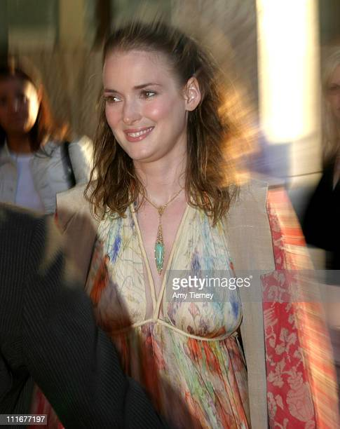 Winona Ryder during 2004 Los Angeles Film Festival 'Before Sunset' Premiere After Party at The Sunset Room in Hollywood California United States