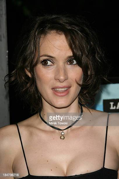 Winona Ryder during Film Independent Los Angeles Film Festival A Scanner Darkly Premiere at John Anson Ford Amphitheatre in Hollywood CA United States