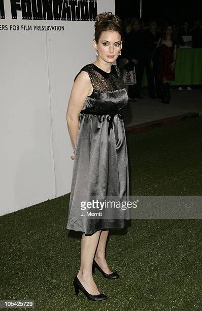 Winona Ryder during Marc Jacobs Comes to Los Angeles at Marc Jacobs Store in Los Angeles California United States