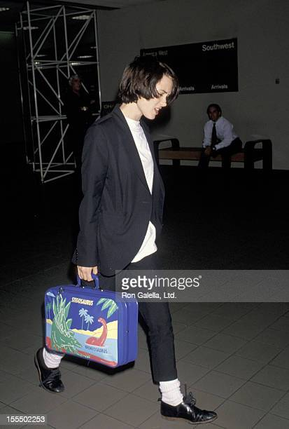 Winona Ryder during Winona Ryder File Photos at Los Angeles International Airport in Los Angeles California United States