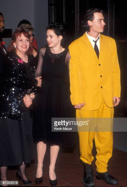 Winona Ryder Johnny Depp and guest