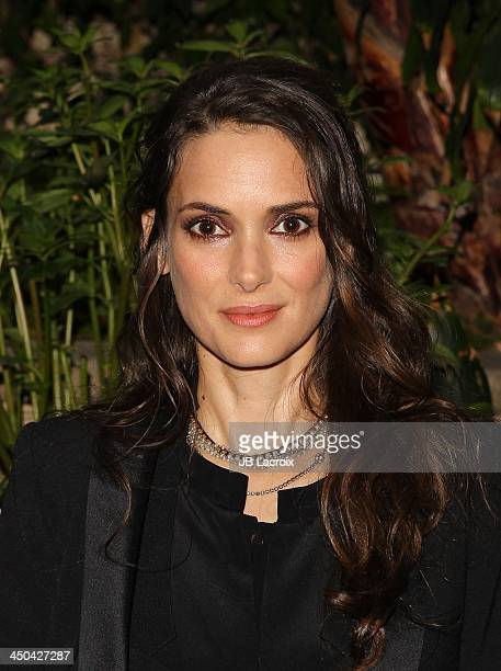 Winona Ryder poses during the 'Homefront' Los Angeles press conference held at Four Seasons Hotel Los Angeles at Beverly Hills on November 18, 2013...