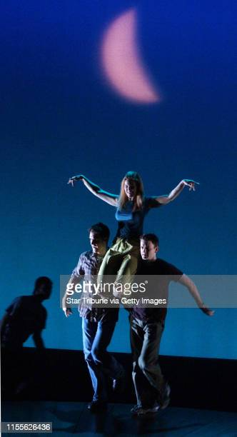 WinonaMnFriJune 25 2004During rehearsal Friday for A Midsummer Night's Dream actress Kim MartinCotten is carried onto stage under a crescent moon...