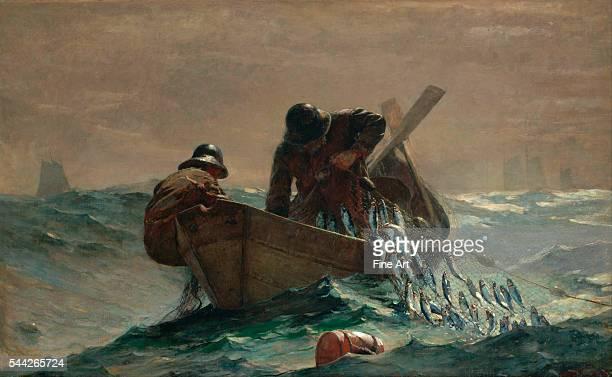 Winslow Homer The Herring Net oil on canvas 765 x 1229 cm Art Institute of Chicago