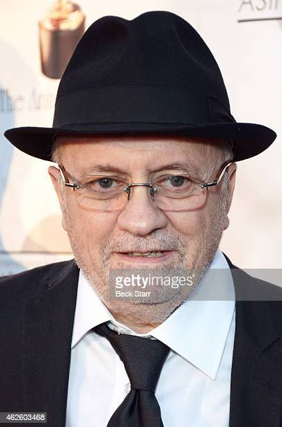 Winsor McCay recipient producer Didier Brunner arrives at the 42nd Annual Annie Awards at Royce Hall on the UCLA Campus on January 31 2015 in...