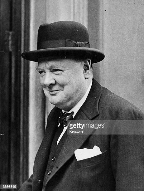 Winston Churchill British Statesman and Prime Minister