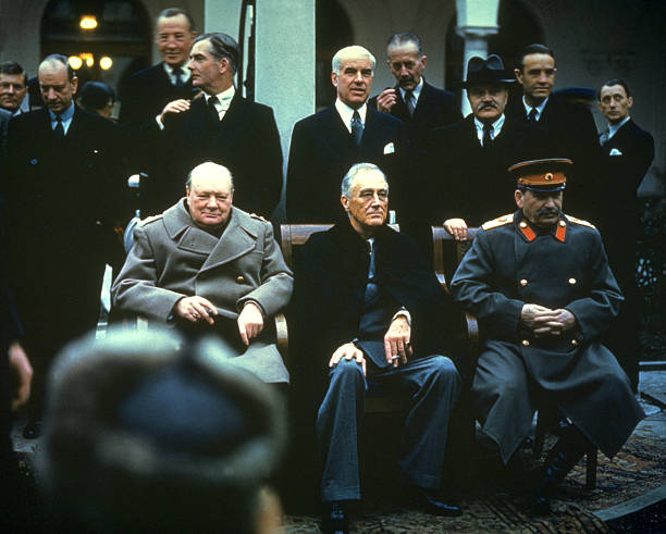 February 11th 1945 Yalta Agreement Signed Photos And Images