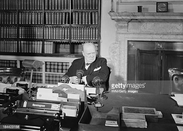 Winston Churchill In The Second World War In The United Kingdom The Prime Minister Winston Churchill makes his VE Day broadcast to the British public...