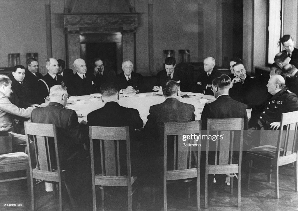 Yalta Conference Pictures Getty Images