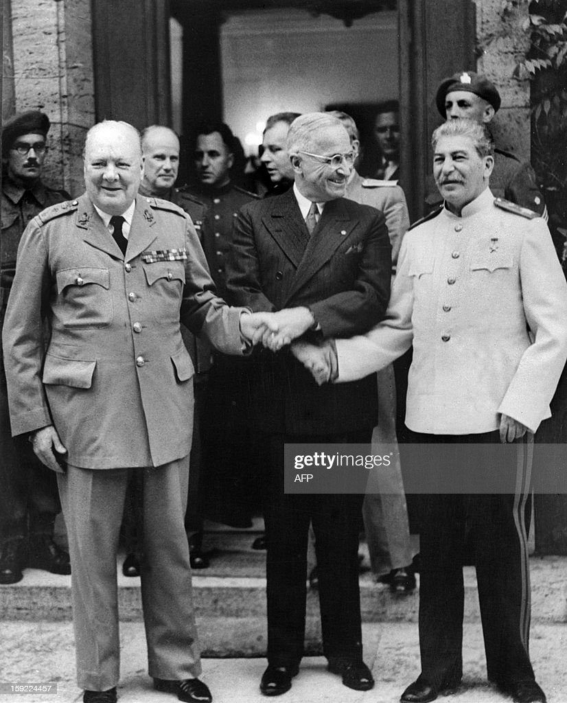 VWWII-POTSDAM CONFERENCE-ALLIED : News Photo