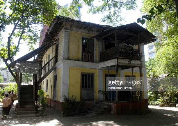 Winston DAbreos Typical East Indian Bungalow More Than 100 Years Old At Prabhadevi