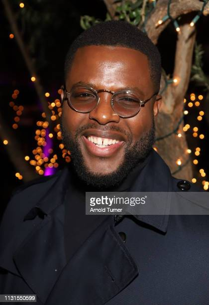 Winston Duke attends Common's 5th Annual Toast to the Arts at Ysabel on February 22 2019 in West Hollywood California