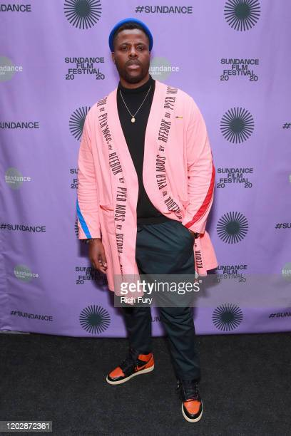 Winston Duke attends the 2020 Sundance Film Festival - Feature Film Competition Dinner at The Shop on January 29, 2020 in Park City, Utah.