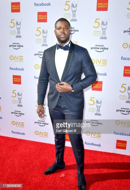 Winston Duke attends the 50th NAACP Image Awards at Dolby Theatre on March 30 2019 in Hollywood California
