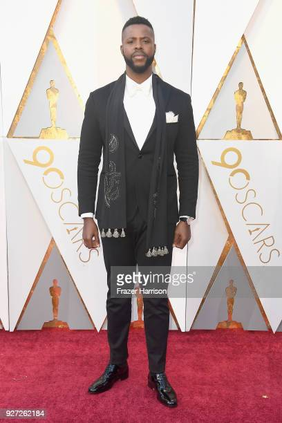 Winston Duke attends the 90th Annual Academy Awards at Hollywood & Highland Center on March 4, 2018 in Hollywood, California.