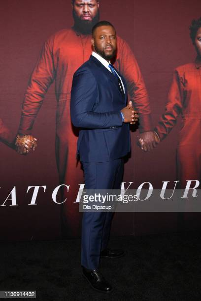 "Winston Duke attends the ""US"" New York Premiere at The Museum of Modern Art on March 19, 2019 in New York City."