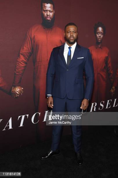 "Winston Duke attends the ""US"" premiere at Museum of Modern Art on March 19, 2019 in New York City."