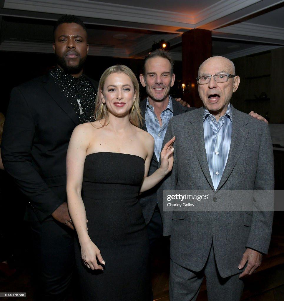 Winston Duke Iliza Shlesinger Peter Berg And Alan Arkin Attend The News Photo Getty Images