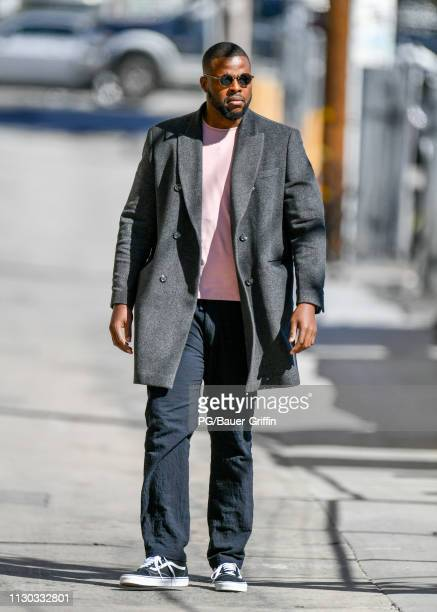 Winston Duke is seen on March 13, 2019 in Los Angeles, California.