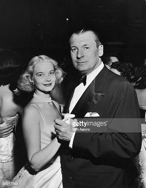 Winston Frederick Churchill Guest and his wife C. Z. Guest attend a party held in honour of the Duke and Duchess of Windsor at the Waldorf Astoria,...