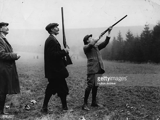 Winston Leonard Spencer Churchill First Lord of the Admiralty Nobel Prize winner for Literature and Prime Minister pheasant shooting at Warter Priory