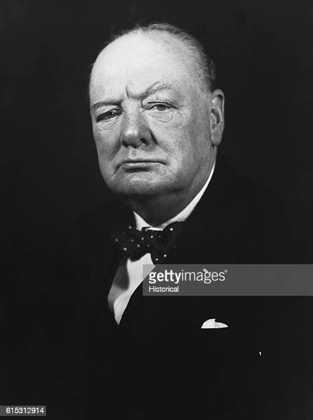 Winston Leonard Spencer Churchill Prime Minister of Great Britain from 19401945 and again from 19511955 led Britain through World War II and later...