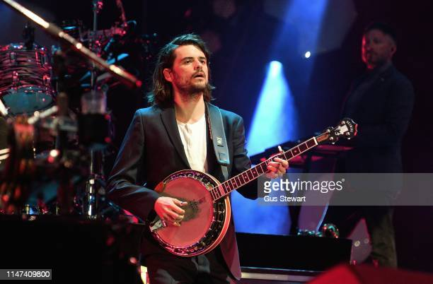 Winston Marshall of Mumford Sons headlines the East stage at All Points East Festival in Victoria Park on June 1 2019 in London England