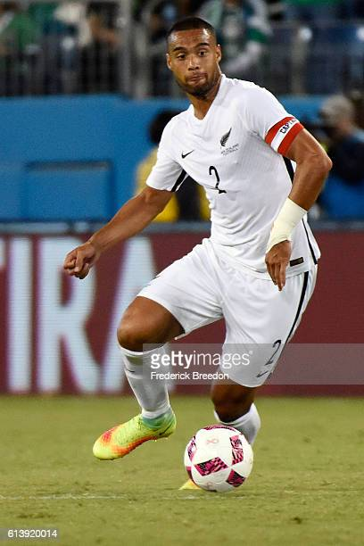 Winston Reid of New Zealand plays against Mexico at Nissan Stadium on October 8 2016 in Nashville Tennessee
