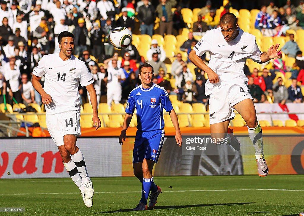 New Zealand v Slovakia: Group F - 2010 FIFA World Cup