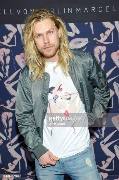 Winston Thompson attends the MARCELL VON BERLIN LA Store Launch at MARCELL VON BERLIN Flagship Store on November 15 2018 in Los Angeles California