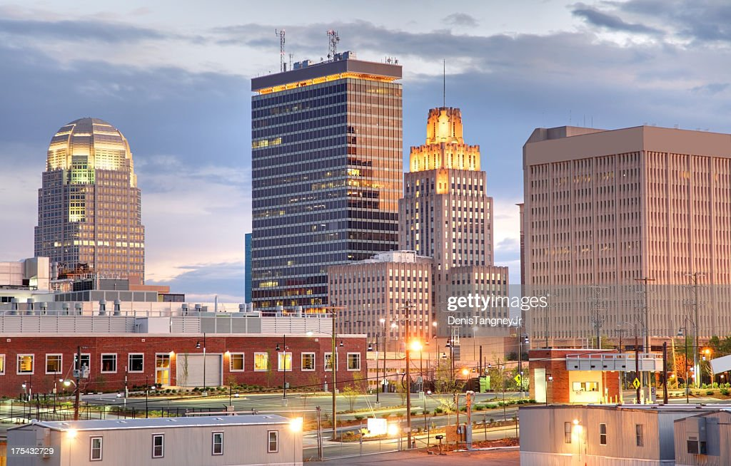 Winston-Salem North Carolina : Stock Photo