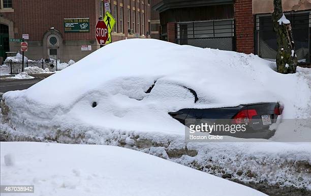 Winter 2015 yielded the largest record snowfall in the city of Boston's history Jillian Tenen's car went through weeks of storms and melting snow...