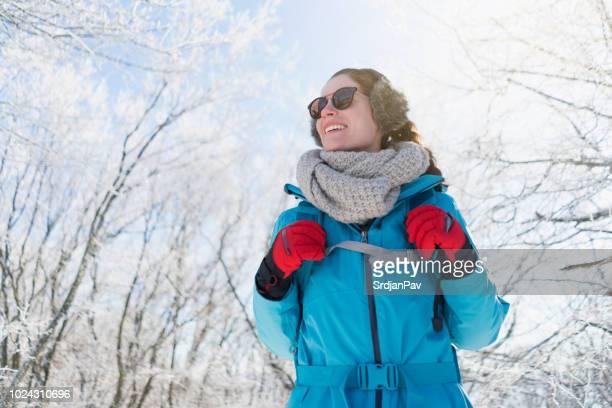 冬の冒険 - 手袋 ストックフォトと画像