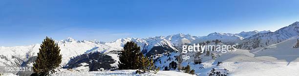 Hiver Alpes Panorama XXL