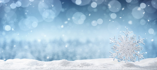 Winter background with copy space 1064221104