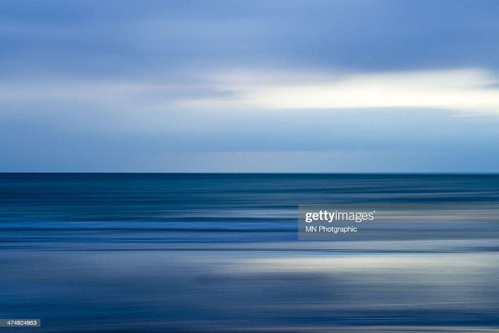 Winter Beach Abstract : Stock Photo