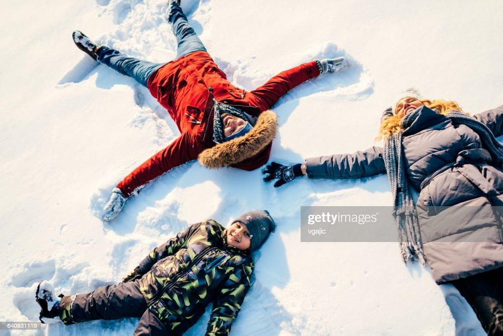 Winter Breaks : Stock Photo