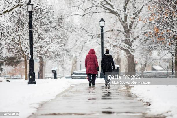 winter breaks - london ontario stock photos and pictures
