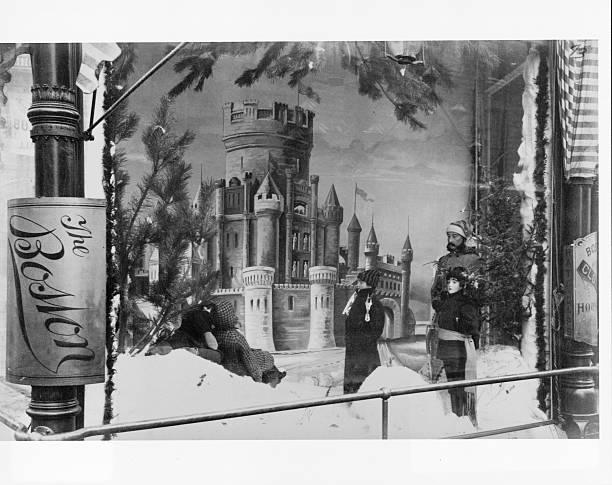 Winter Carnival Window Display