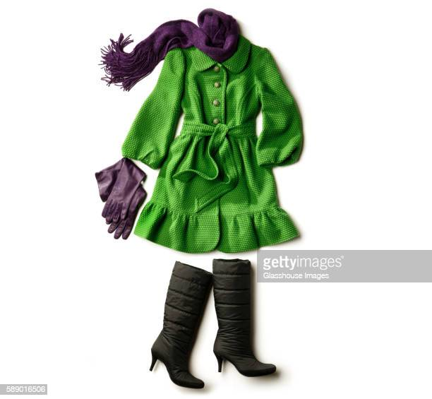 winter coat woman - overcoat stock pictures, royalty-free photos & images