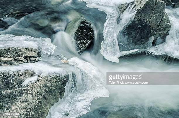 Winter Convergence: water/ice/rocks