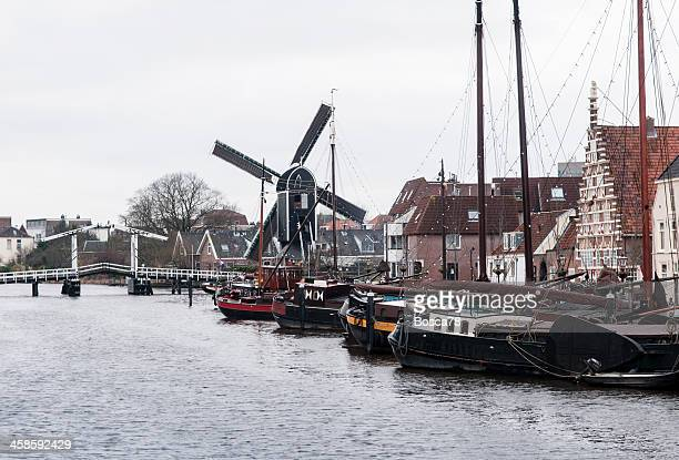 Winter day in Leiden