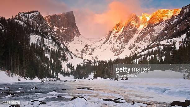 Winter dream lake
